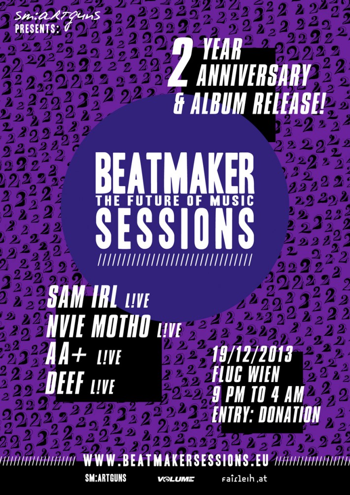 Beatmaker Sessions 2yr Anniversary 19.12.2013